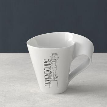 Modern Cities mug à café, Luxembourg, 300ml