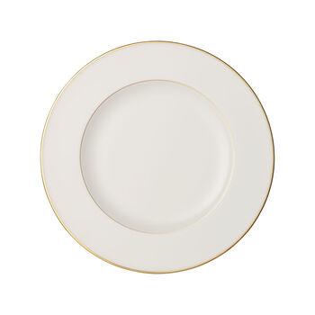 Anmut Gold assiette plate, diamètre 27cm, blanc/or