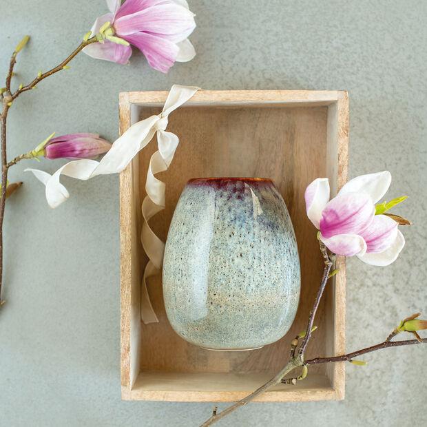 Lave Home Vase Egg Shape, 14,5x14,5x17,5cm, Beige, , large