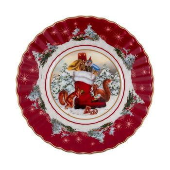 Toy's Fantasy petite coupe botte, multicolore/rouge/blanc, 16x16x3cm