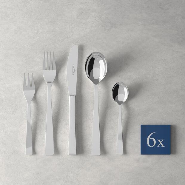 V&B Elisabeth couverts de tables, 30pièces, pour 6personnes, , large