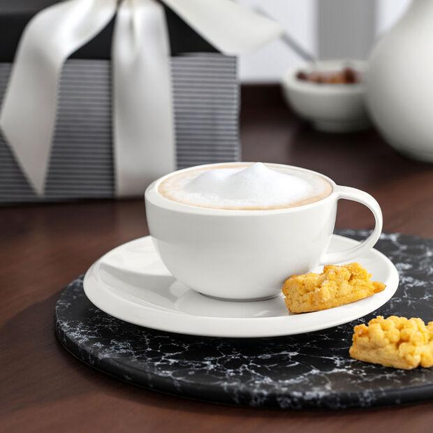 NewMoon Tasse à café avec soucoupe 2pcs 17x17x6,5cm, , large