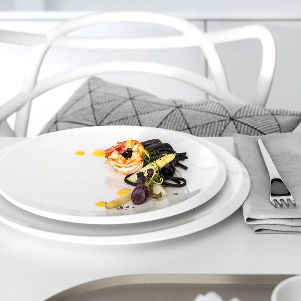 NewMoon assiette gourmet, 32cm, blanche, , large