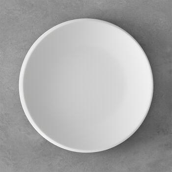 NewMoon assiette plate, 27cm, blanche