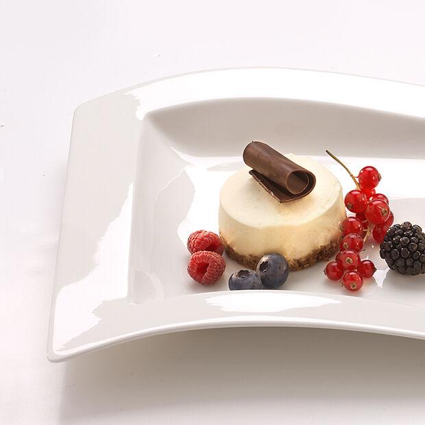 NewWave assiette à dessert rectangulaire 26x20cm, , large