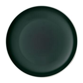 it's my match assiette, 27cm, vert foncé