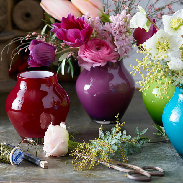 Mini-vase décoratif Oronda deep cherry, , large