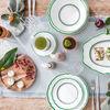 French Garden Green Line Soucoupe tasse petit-déjeuner 17cm, , large