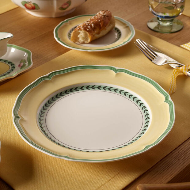 French Garden Vienne assiette plate, , large