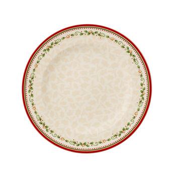Winter Bakery Delight assiette plate motif étoile filante