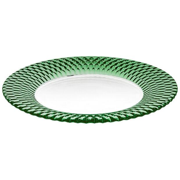 Boston Coloured assiette de présentation, vert, 32cm, , large