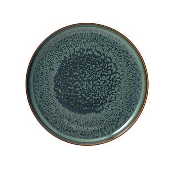 Crafted Breeze assiette plate, bleu-gris, 26cm