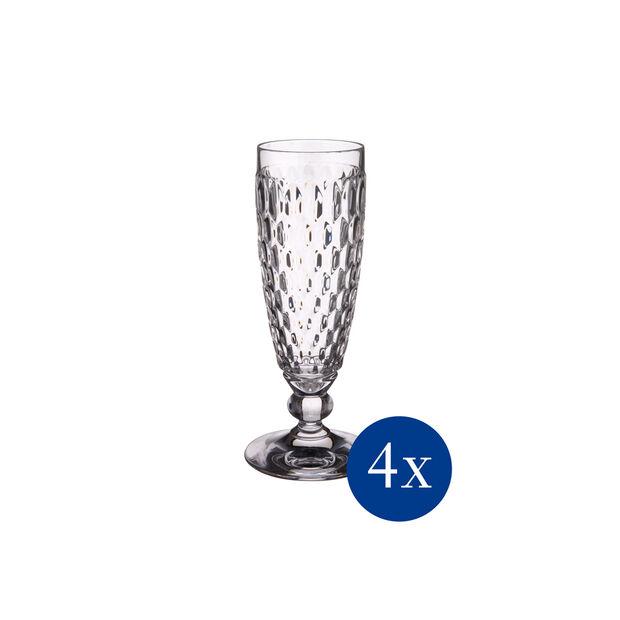 Boston Flûte à champagne, Set 4 pcs, , large