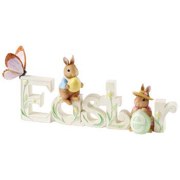 Spring Fantasy Accessories Texte decoratif Paques 33,4x6,3x13,6cm