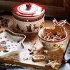 Winter Bakery Delight Boîte à biscuits, grande 13x17cm, , large