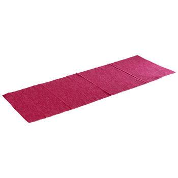 Textil News Breeze chemin de table rose 50x140cm