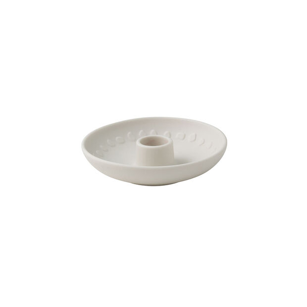 it's my home bougeoir Blossom, 12x3cm, blanc, , large