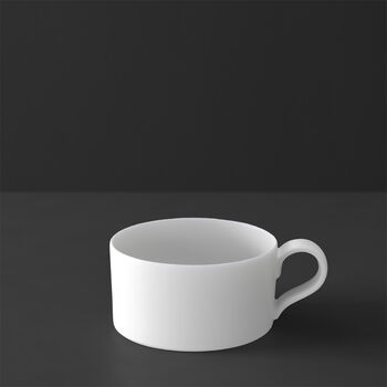 MetroChic blanc tasse à thé, 230ml, blanche