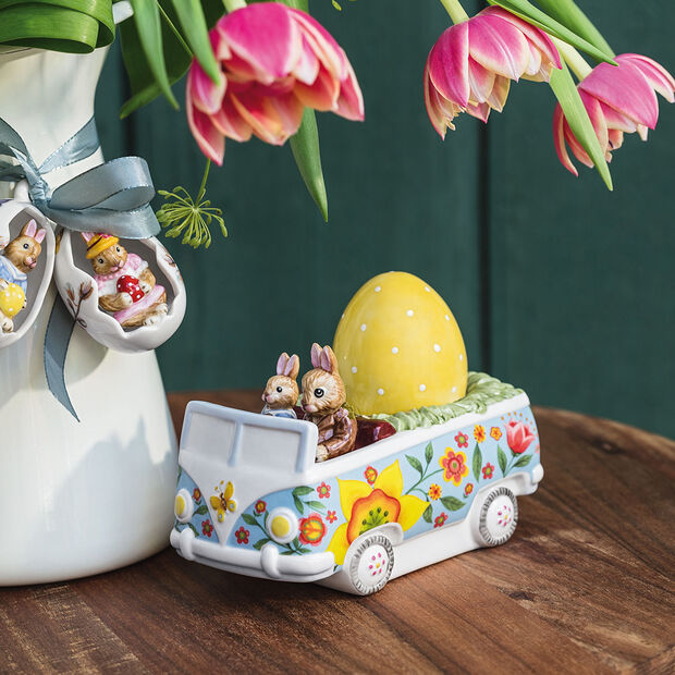 Bunny Tales figurine bus, multicolore, , large