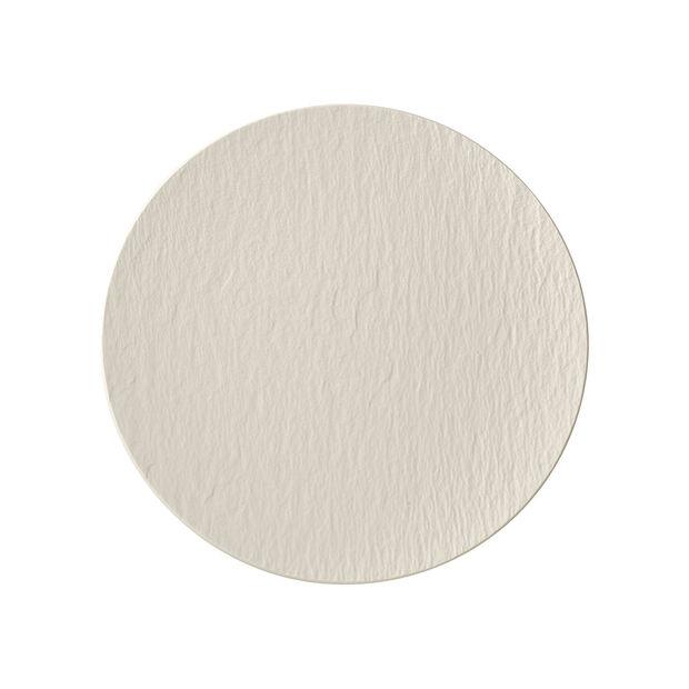 Manufacture Rock blanc Assiette universelle coupe 25x25x2,8cm, , large