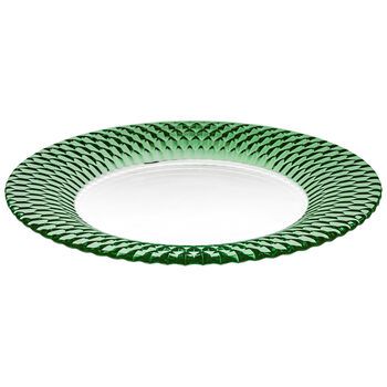 Boston Coloured assiette de présentation, vert, 32cm