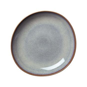 Lave Beige coupe plate, beige, 28x27x4,3cm