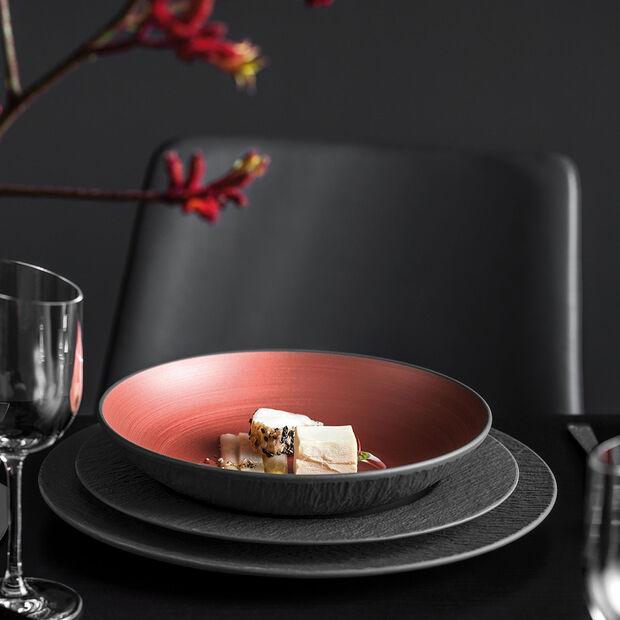 Manufacture Rock Glow coupe plate, cuivre/noire, , large