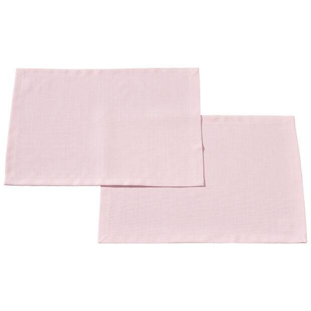Textil Uni TREND Set de table Rose S2 35x50cm, , large
