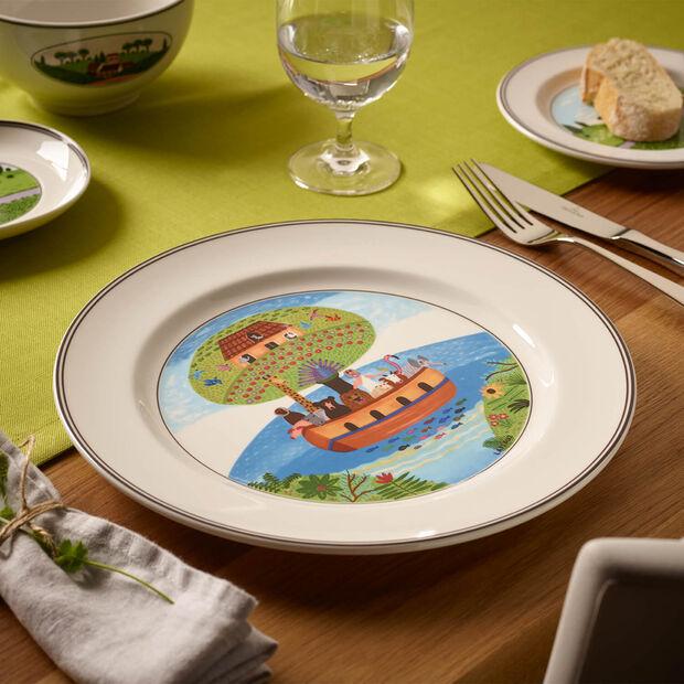 Design Naif assiette plate arche de Noé, , large