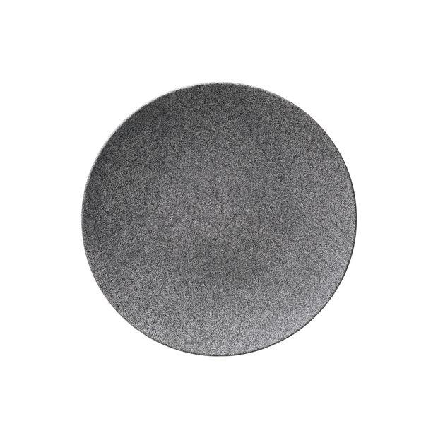 Manufacture Rock Granit assiette plate, 25cm, grise, , large