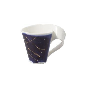 NewWave Stars mug gémeaux, 300ml, bleu/blanc