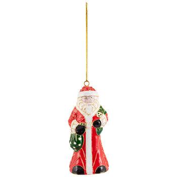 Winter Collage Accessoires suspension en métal, Père Noël, multicolore, 12cm