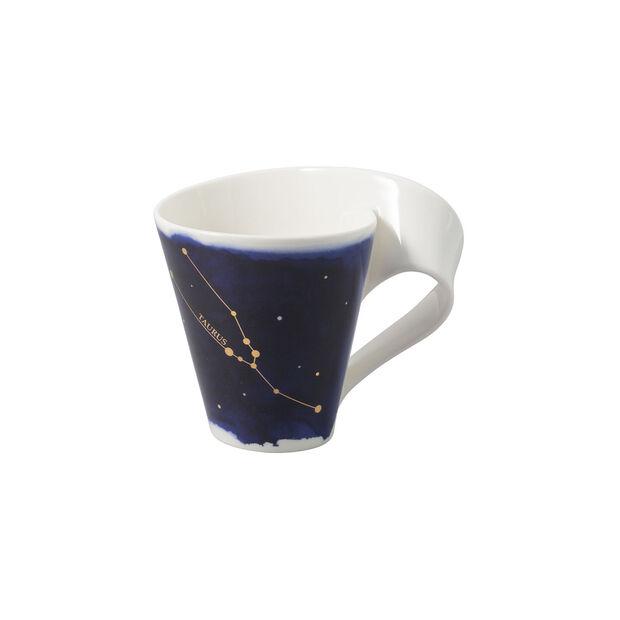 NewWave Stars mug taureau, 300ml, bleu/blanc, , large