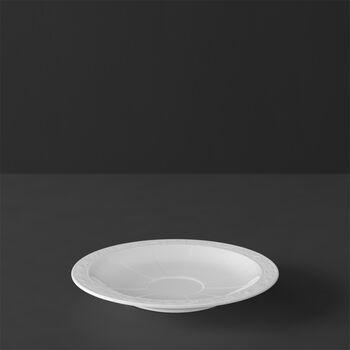 White Pearl sous-tasse à moka/expresso