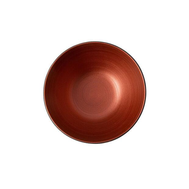 Manufacture Rock Glow bol, cuivre/noir, 14x14x7cm, , large