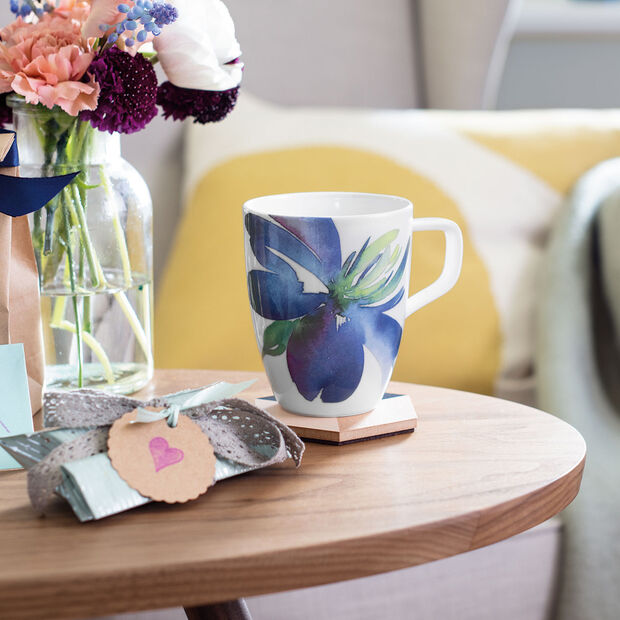 Artesano Flower Art mug à café, , large