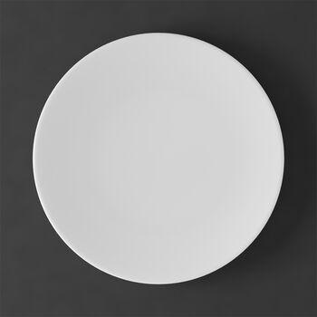 MetroChic blanc Assiette plate 27x27x2cm