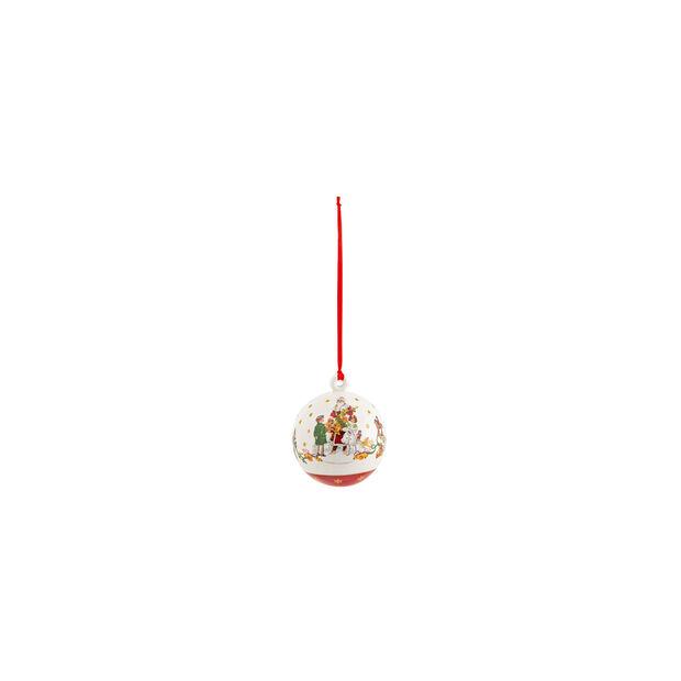 Annual Christmas Edition Boule 2021 6,5x6,5x8cm, , large