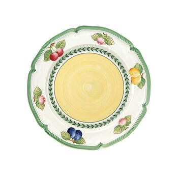 French Garden Fleurence assiette plate, 6pièces
