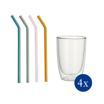 Artesano Hot&Cold Beverages ensemble à long drink, 8pcs, EC