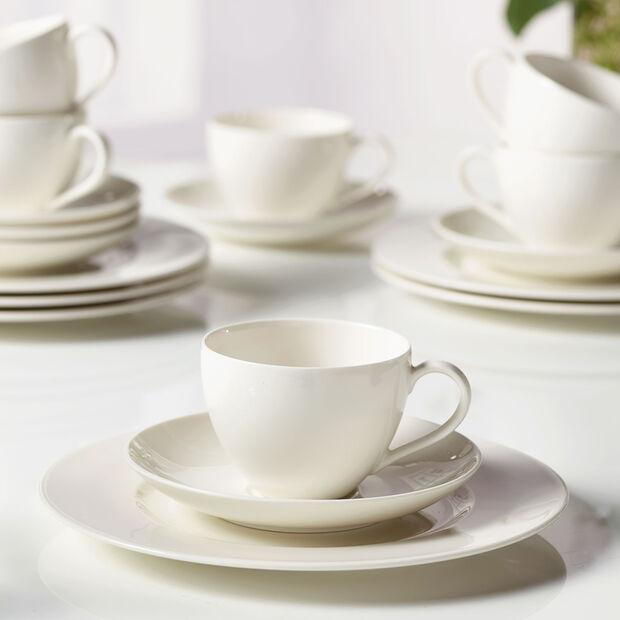 vivo   Villeroy & Boch Group Basic White Ensemble à café 18pièces pour 6personnes, , large