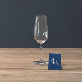 Entrée Flûte à champagne Set 4 pcs 205mm