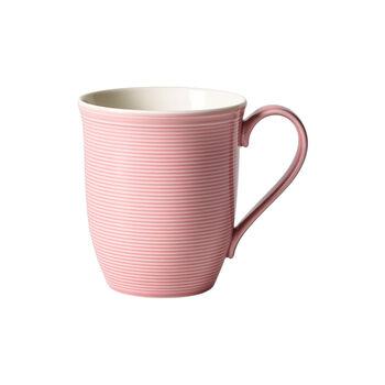 Color Loop Rose mug à anse 13x9x10cm