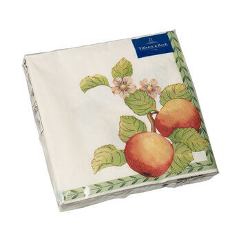 Serviettes en papier French Garden Modern Fruits, 20pièces, 33x33cm