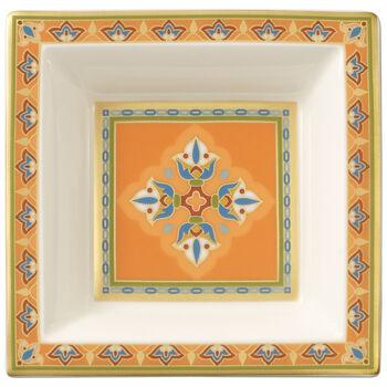 Samarkand Mandarine coupelle carrée 10x10cm