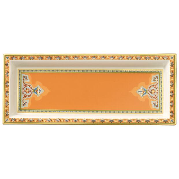 Samarkand Mandarin coupe rectangulaire 25x10cm, , large