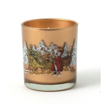 Winter Specials Père Noël avec traîneau 7,5x9,5cm