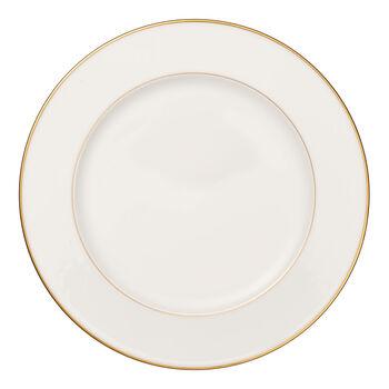 Anmut Gold plat rond, diamètre 32cm, blanc/or