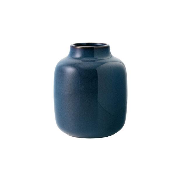 Lave Home Vase Shoulder, 12,5x12,5x15,5cm, Bleu uni, , large