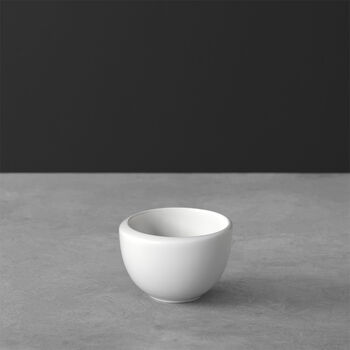 NewMoon tasse à expresso, sans anse, 100ml, blanche
